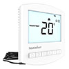 Heatmiser Slimline-e v3 Electric Underfloor Heating Thermostat profile small image view 1