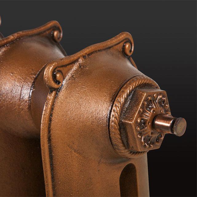 Paladin Sloane Cast Iron Radiator (750mm High) profile large image view 6