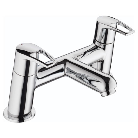 Bristan - Smile Contemporary Bath Filler - Chrome - SM-BF-C