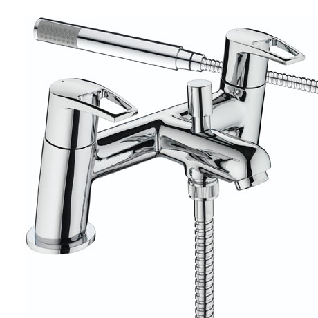 Bristan - Smile Contemporary Bath Shower Mixer - Chrome - SM-BSM-C