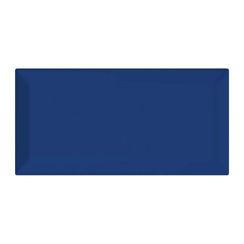 Victoria Metro Wall Tiles - Gloss Bright Blue - 20 x 10cm Large Image