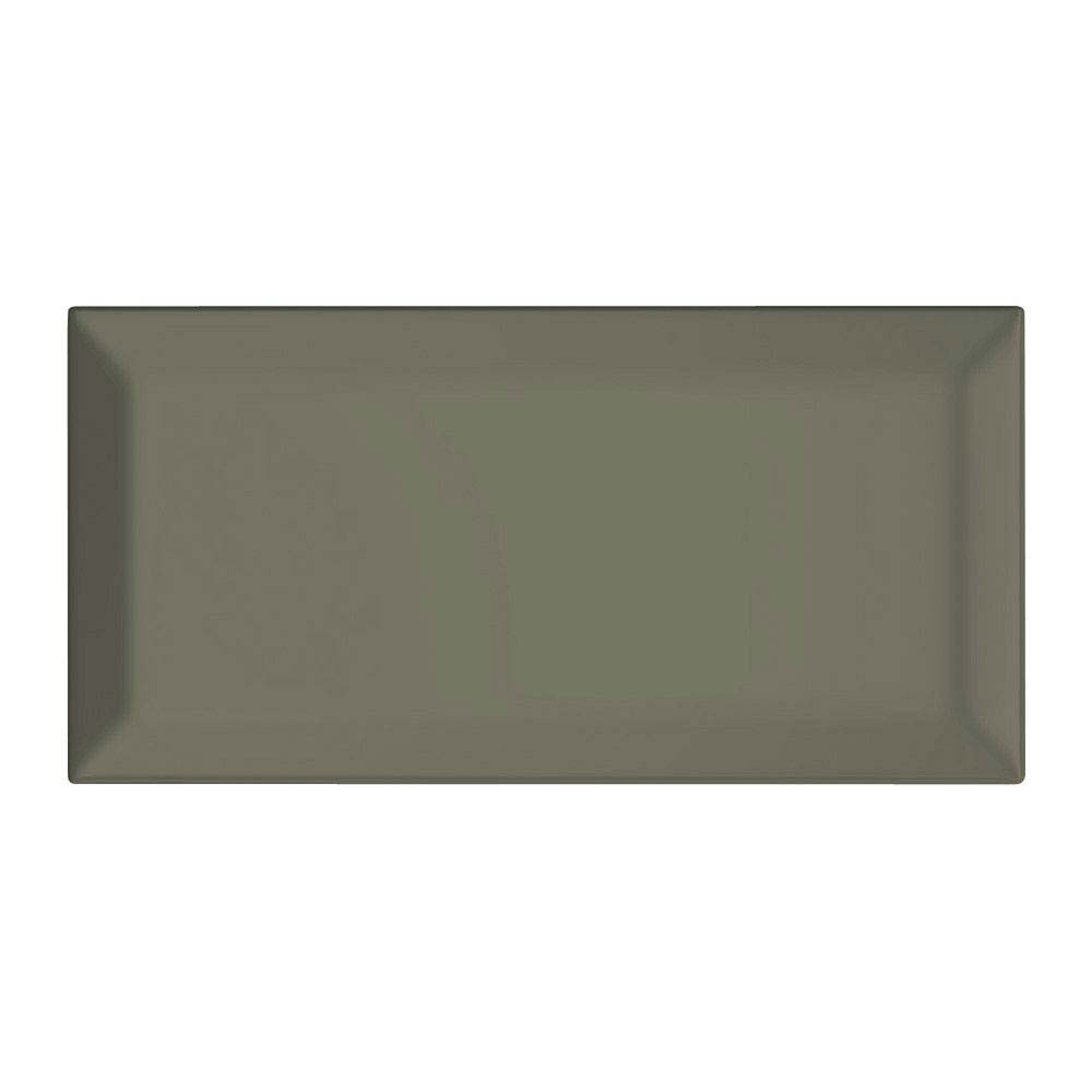 Victoria Mini Metro Wall Tiles - Gloss Sage - 15 x 7.5cm Large Image