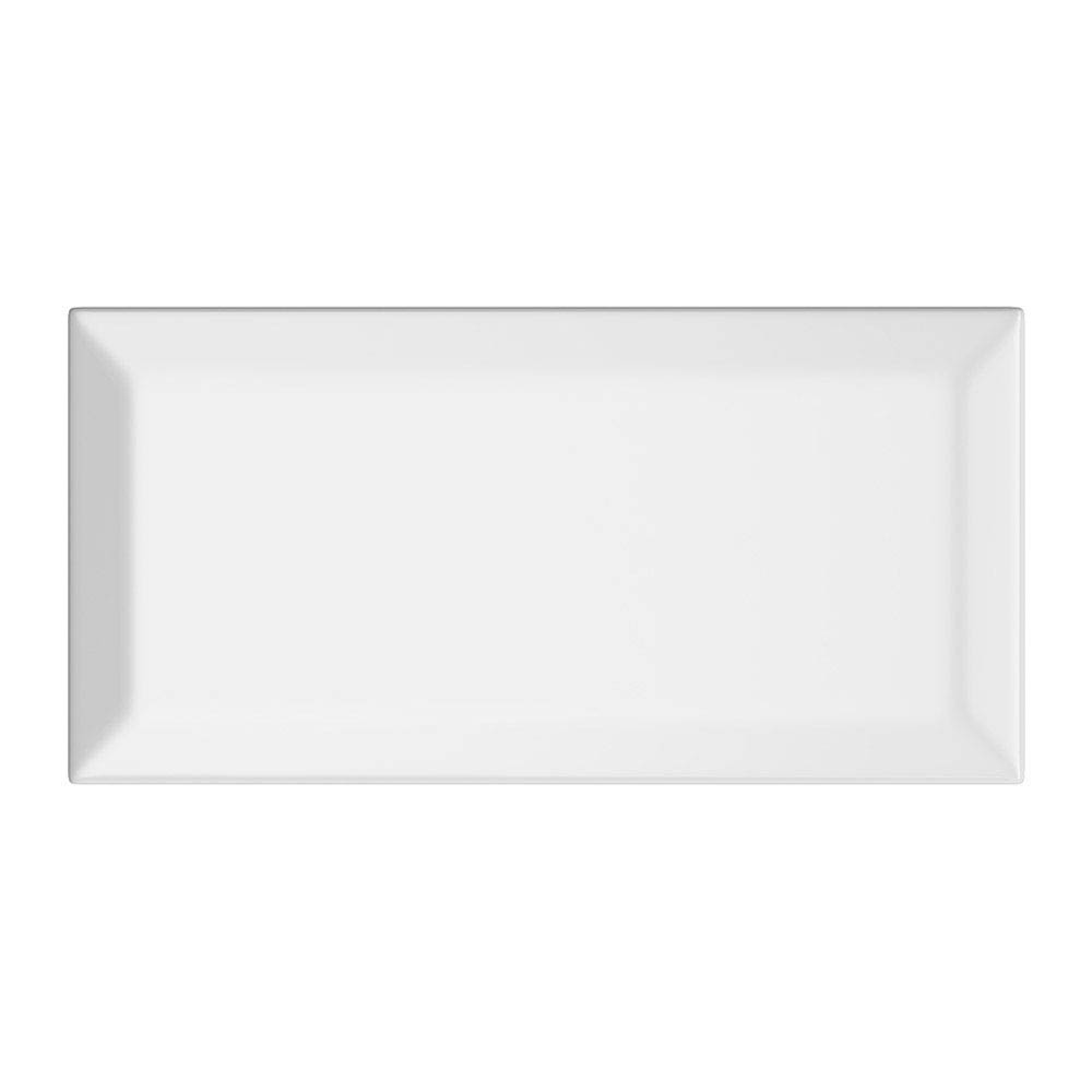 Victoria Mini Metro Wall Tiles - Gloss White - 15 x 7.5cm Large Image