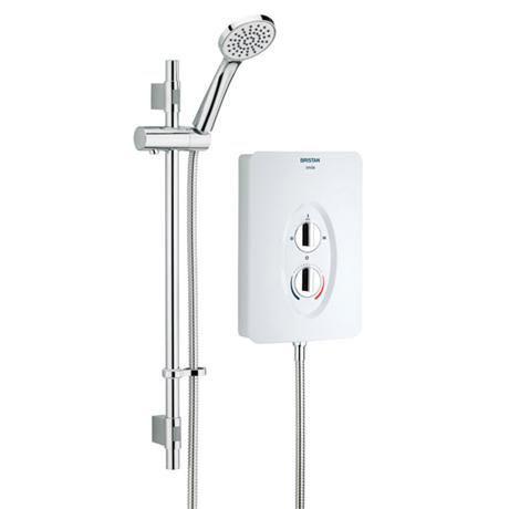 Bristan - Smile Electric Shower - White