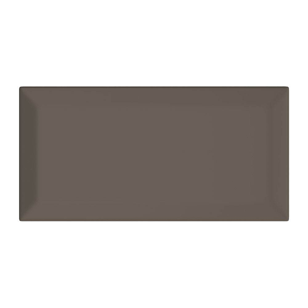 Victoria Mini Metro Wall Tiles - Gloss Dark Grey - 15 x 7.5cm Large Image