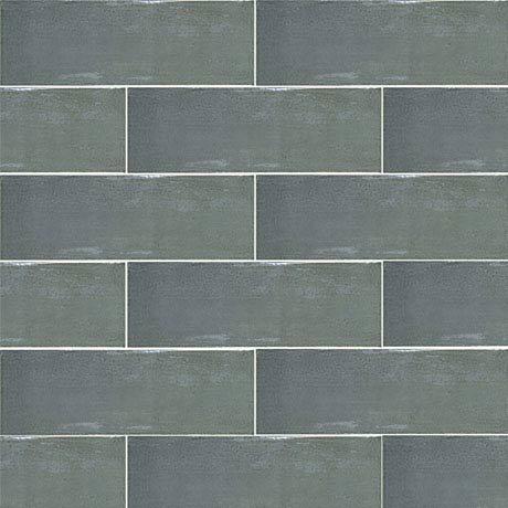 Westbury Rustic Metro Wall Tiles - Graphite - 30 x 10cm