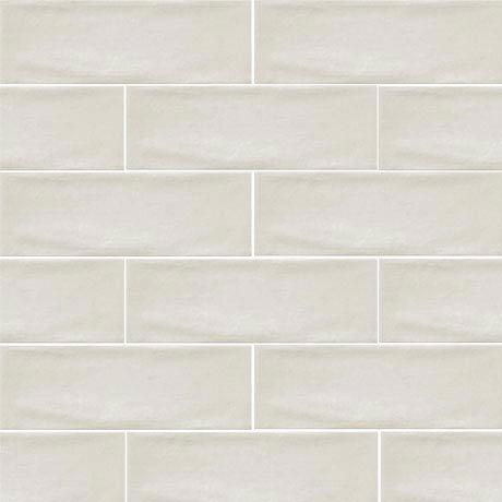 Westbury Rustic Metro Wall Tiles - Cream - 30 x 10cm