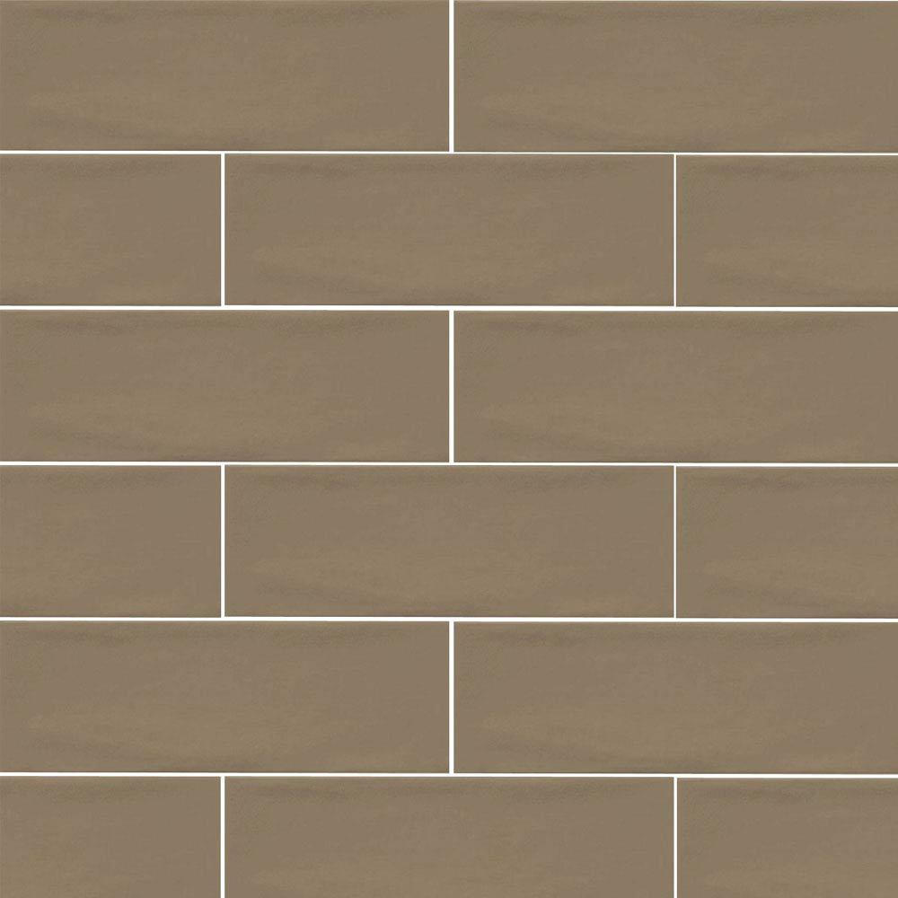 Westbury Rustic Metro Wall Tiles - Chocolate - 30 x 10cm Large Image