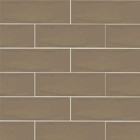 Westbury Rustic Metro Wall Tiles - Chocolate - 30 x 10cm