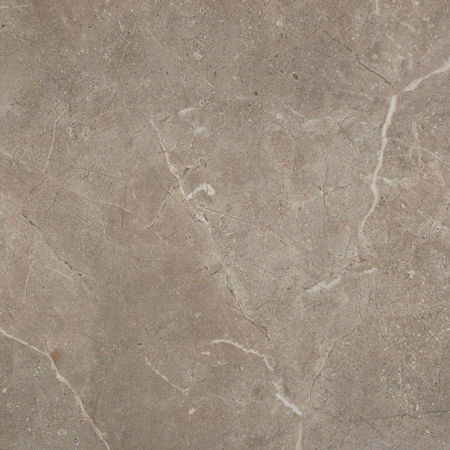 Sena Light Grey Polished Porcelain Floor Tiles - 60 x 60cm Large Image