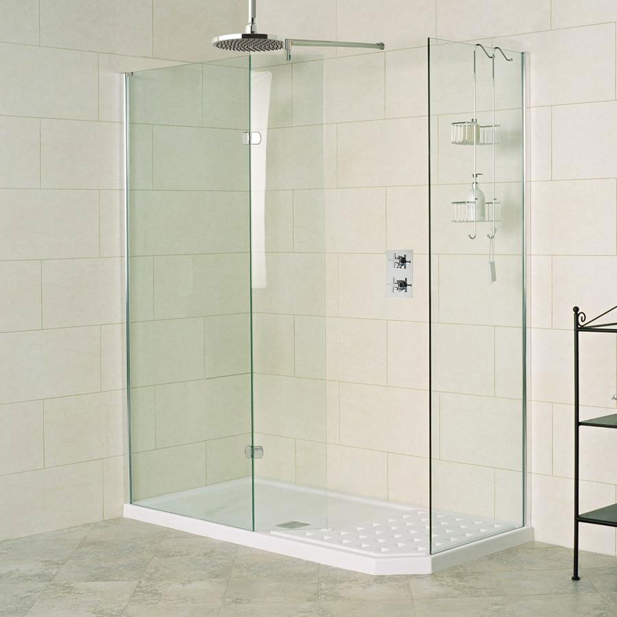 Roman Sculptures Walk-In Shower Enclosure profile large image view 1