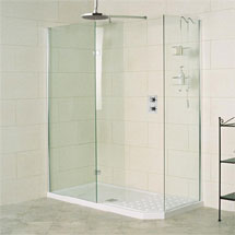 Roman Sculptures Walk-In Shower Enclosure Medium Image