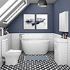 Snowden Small Free Standing Bath Suite profile small image view 1