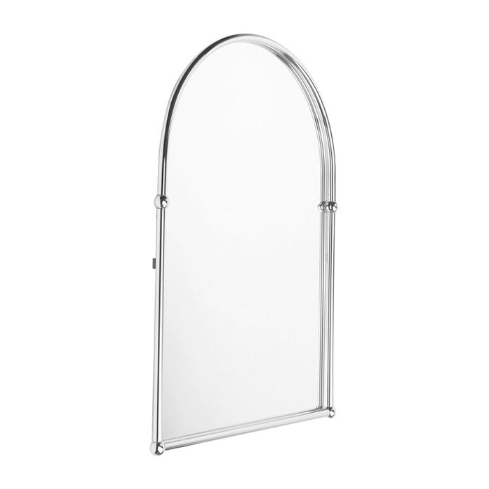 Bristan - Solo Wall Mounted Arch Mirror - SO-MR-C Large Image