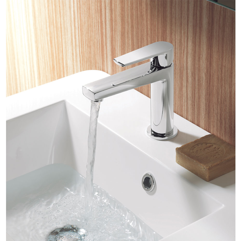Crosswater - Solo Monobloc Basin Mixer - SO110DNC profile large image view 2