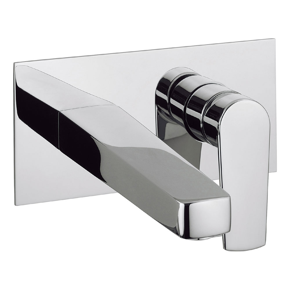 Crosswater - Solo Wall Mounted 2 Hole Set Basin Mixer - SO121WNC Large Image