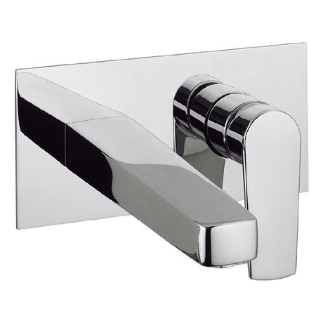 Crosswater - Solo Wall Mounted 2 Hole Set Basin Mixer - SO121WNC