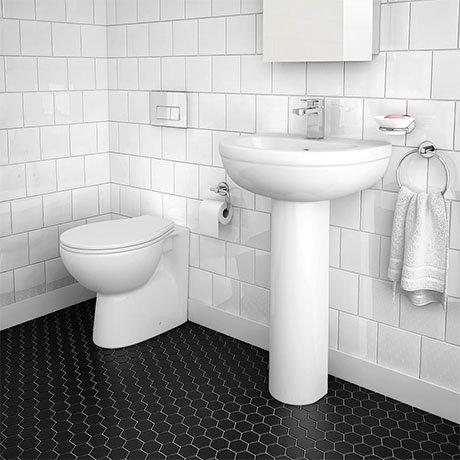 Sofia Modern Bathroom Suite (Back To Wall)