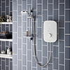 Bristan Solis 9.5kw Electric Shower - White - SOL95-W profile small image view 1