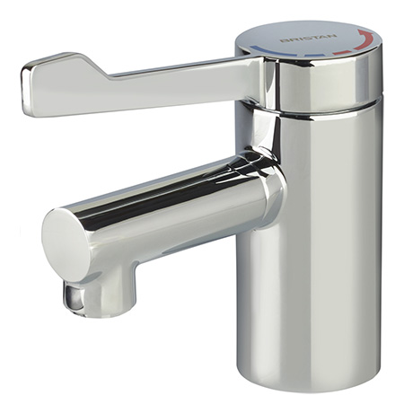 Bristan Solo2 TMV3 Mono Basin Mixer Tap With Long Lever Handle - SOLO2-T3LL
