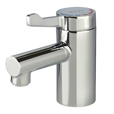 Bristan Solo2 TMV3 Mono Basin Mixer Tap With Short Lever Handle