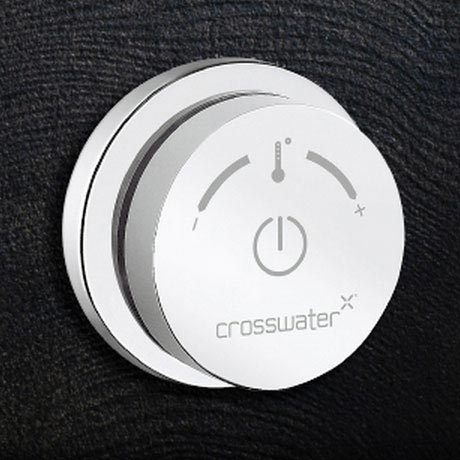 Crosswater Digital Solo Single Processor and Controller for Bath or Shower profile large image view 1