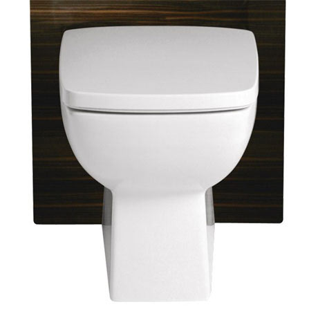 Heritage Sonic Square Back to Wall WC Pan - PSOWSF00