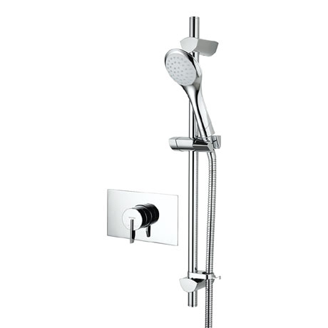 Bristan - Sonique2 Concealed Thermostatic Surface Mounted Shower Valve with Adjustable Riser