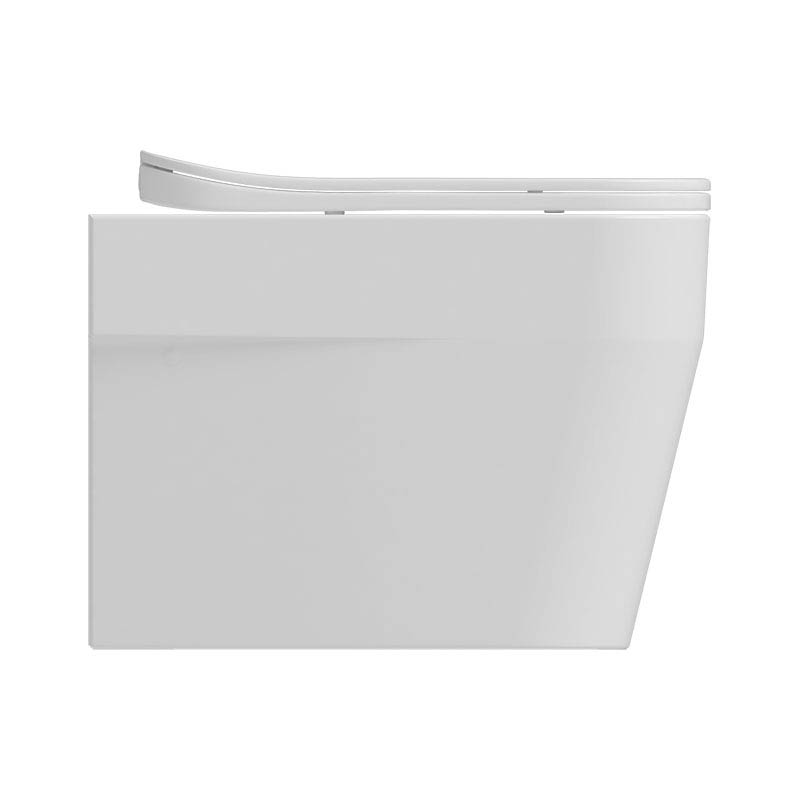 Isvea Sott Aqua Wall Hung Pan + Soft Close Seat  Feature Large Image
