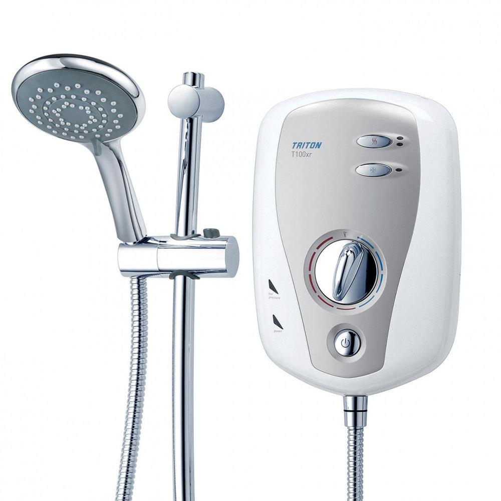 Triton T100xr 10.5kw Slimline Electric Shower profile large image view 2