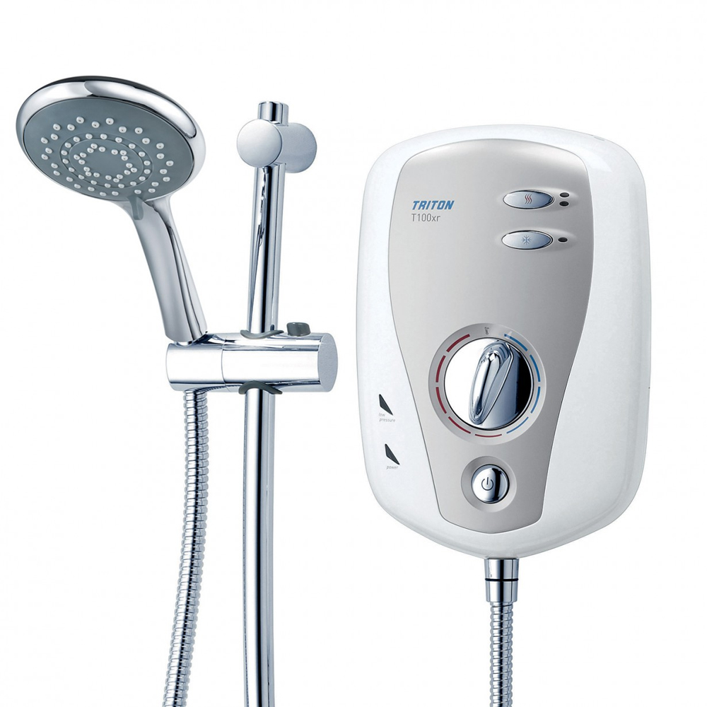 Triton T100xr 8.5kw Slimline Electric Shower profile large image view 2