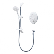 Triton T300si 8.5kw Remote Electric Shower - White/Chrome Medium Image