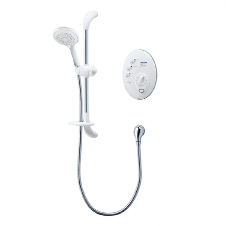 Triton T300si 9.5kw Remote Electric Shower - White/Chrome