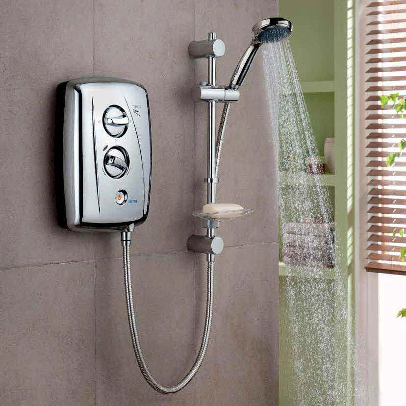 Triton T80Z 10.5 kW Fast-Fit Electric Shower - Chrome - SP8CHR1ZFF profile large image view 3