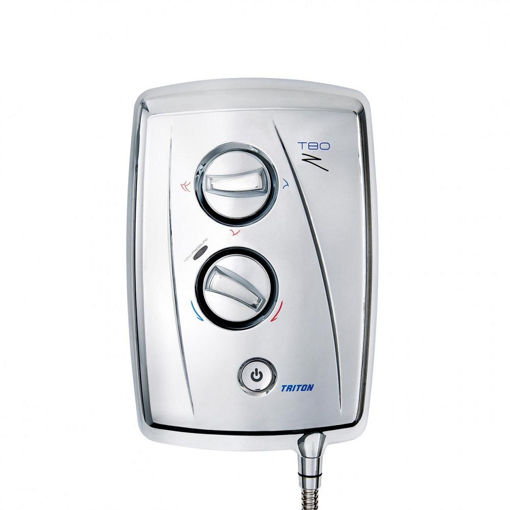 Triton T80Z 10.5 kW Fast-Fit Electric Shower - Chrome - SP8CHR1ZFF profile large image view 4