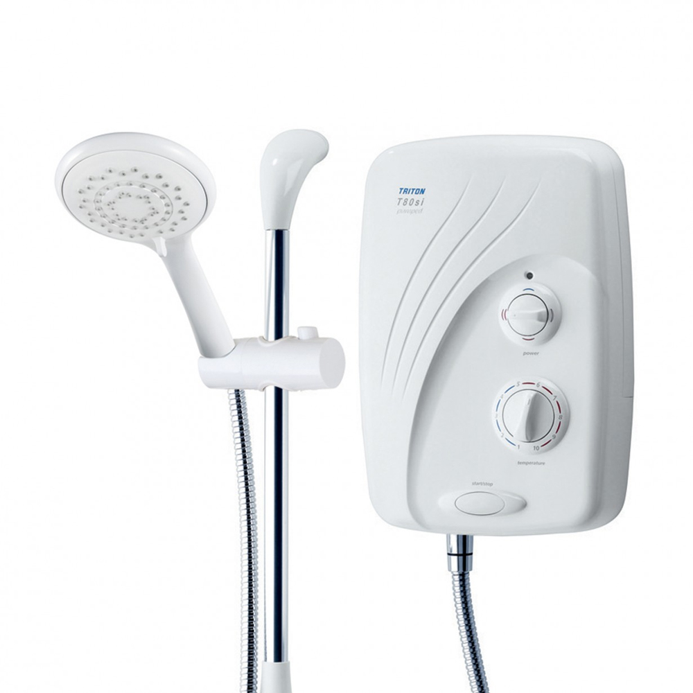 Triton T80si Pumped 9.5kW Electric Shower - SP8P09SI profile large image view 2