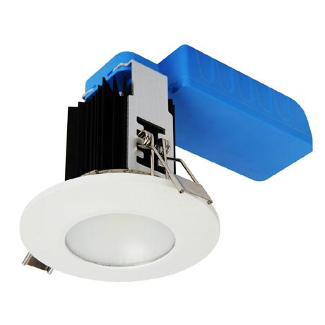 Forum - 12W Integrated COB Downlight - Cool White - SPA-23068-WHT