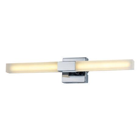 Forum Pandora LED Acrylic Twin Bathroom Wall Light - SPA-23536-CHR