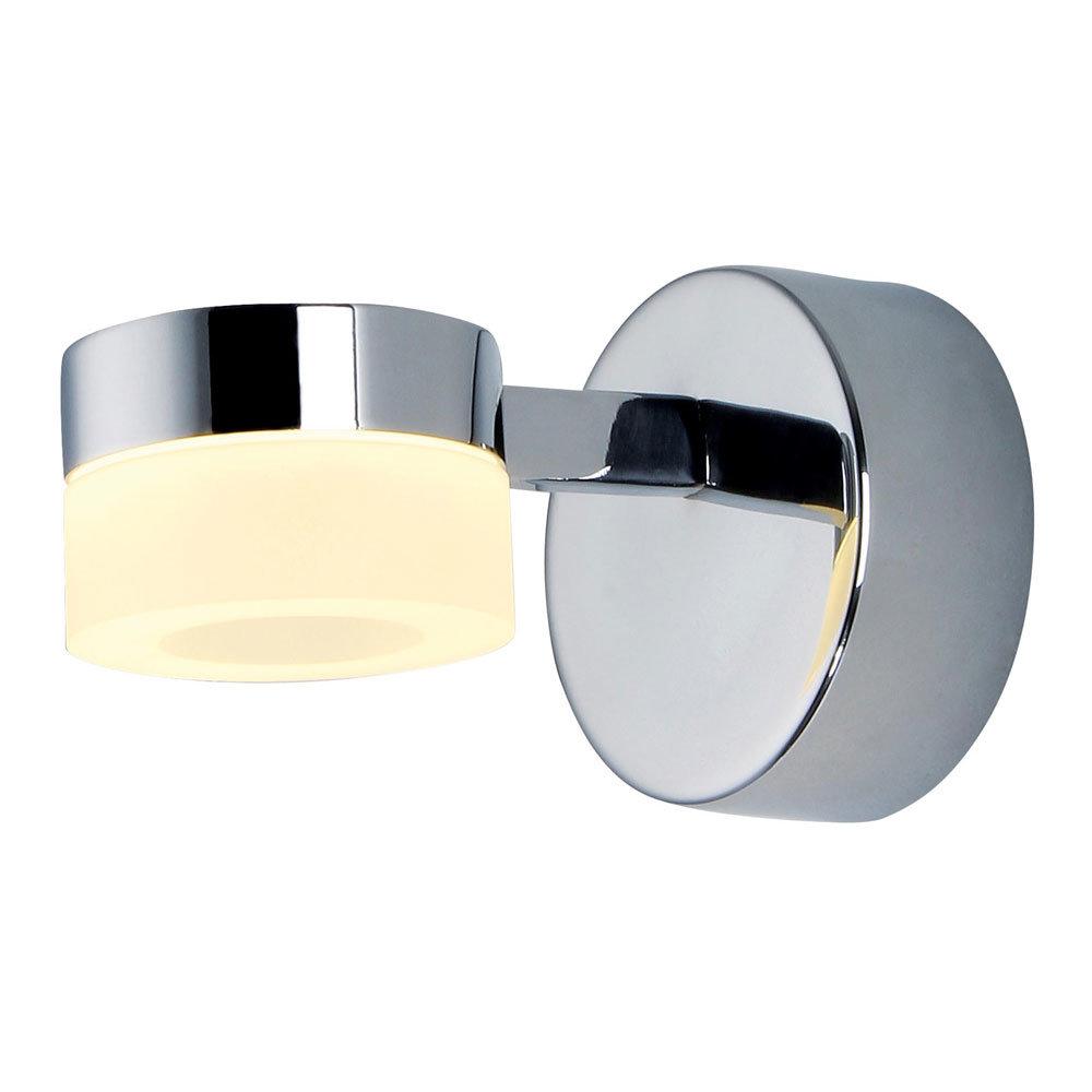 Forum Rhea LED Acrylic Ring Single Wall Light - SPA-23617-CHR Large Image