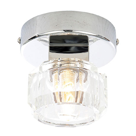 Forum Octans 1 Light Wall Light - SPA-24676-CHR