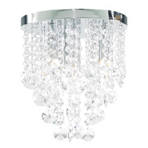 Forum Celeste 6 Light Flush Ceiling Fitting - SPA-24870-CHR Medium Image