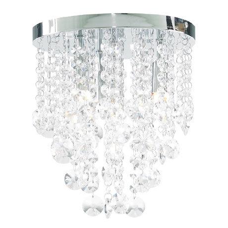Forum Celeste 4 Light Flush Ceiling Fitting - SPA-24869-CHR
