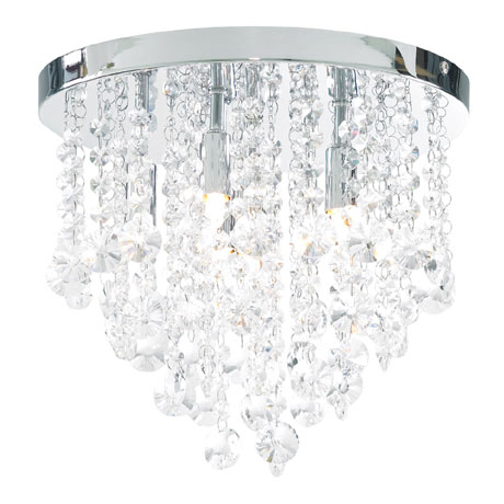 Forum Celeste 6 Light Flush Ceiling Fitting - SPA-24870-CHR