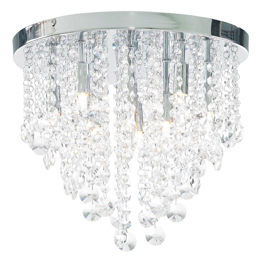 Forum Celeste 9 Light Flush Ceiling Fitting - SPA-24871-CHR Large Image