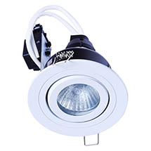 Forum IP65 White Adjustable Downlight - SPA-30841-MWHT Medium Image