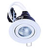 Forum IP65 White Adjustable Downlight - SPA-30841-MWHT profile small image view 1