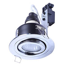 Forum IP65 Chrome Adjustable Downlight - SPA-30842-CHR Medium Image