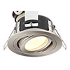 Forum IP65 Chrome Adjustable Downlight - Satin Chrome - SPA-30842-SCHR profile small image view 1