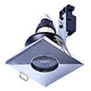 Forum Cali IP65 Fixed Square Downlight - Chrome - SPA-30844-CHR profile small image view 1