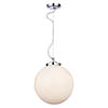 Forum Porto Chrome Pendant Ceiling Light Fitting - SPA-31310-CHR profile small image view 1